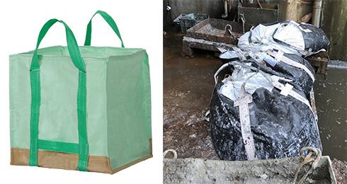 廃棄物入れのフレコン・トン袋
