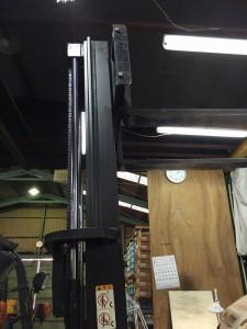 吊上げ高さに制限が あったため、背の高いフレコンは使えなかった